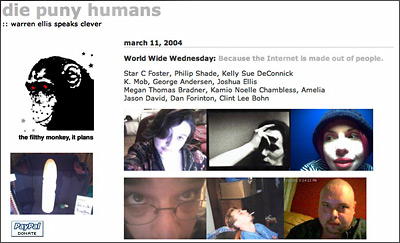 die puny humans-World Wide Wednesday